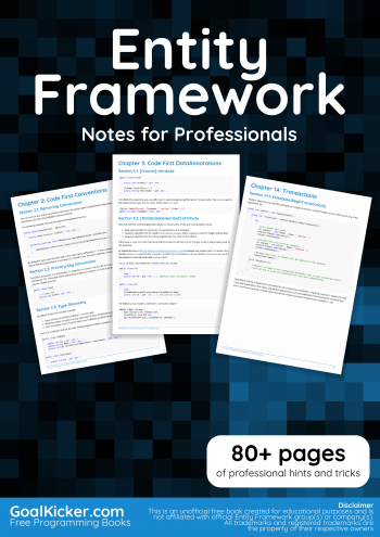 Entity Framework book