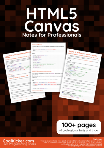 HTML5 Canvas book
