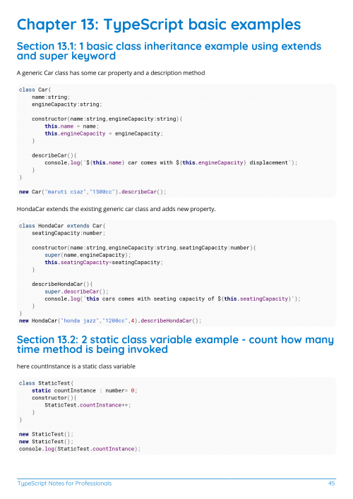 Free TypeScript Book