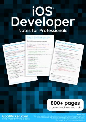 Free iOS Developer Book
